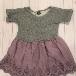 Gap knit and Eyelet Dress size 4